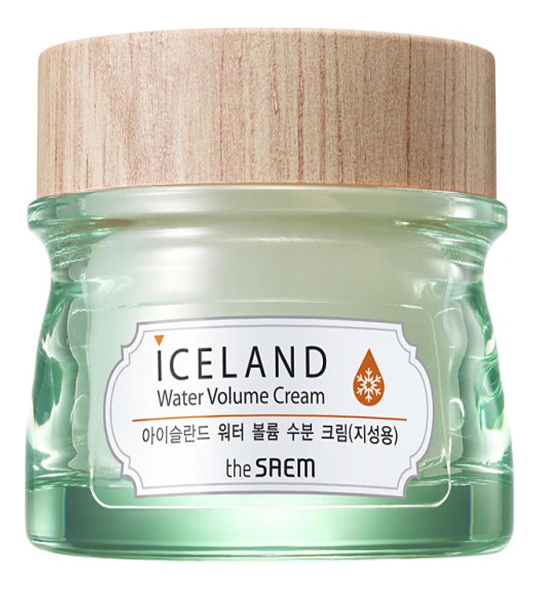 Крем минеральный для жирной кожи Iceland Hydrating Water Volume Cream For Oily Skin: Крем 80мл