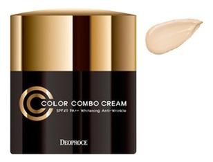 CC крем для лица Color Combo Cream SPF50 PA++ 40г: No 21 крем для век омолаживающий 40г deoproce herb gold