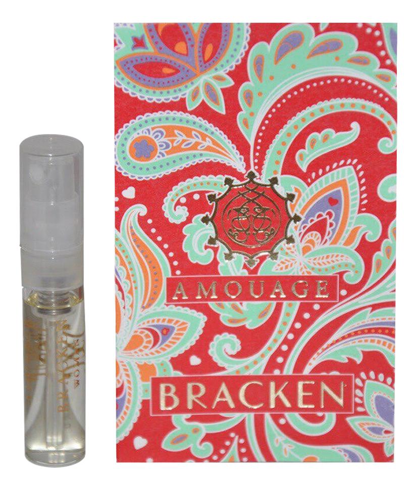 Amouage Bracken for Woman: парфюмерная вода 2мл amouage portrayal woman парфюмерная вода 2мл