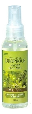 deoproce мист well being hydro Мист для лица увлажняющий Well-Being Hydro Face Mist Olive 100мл