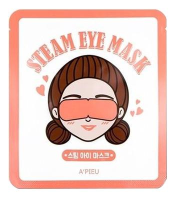 Маска для уставших глаз Steam Eye Mask 5шт: 5*12г