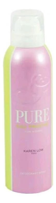 Karen Low Pure Eau Fraiche: дезодорант 200мл geparlys парфюмерная вода pure eau fraiche women линии karen low 100 мл
