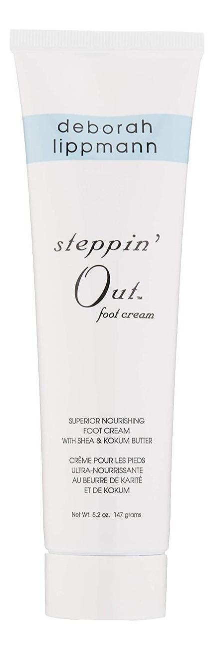 Смягчающий крем для ног Steppin Out Foot Cream : Крем 150г