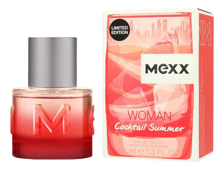 Mexx Woman Cocktail Summer : туалетная вода 40мл