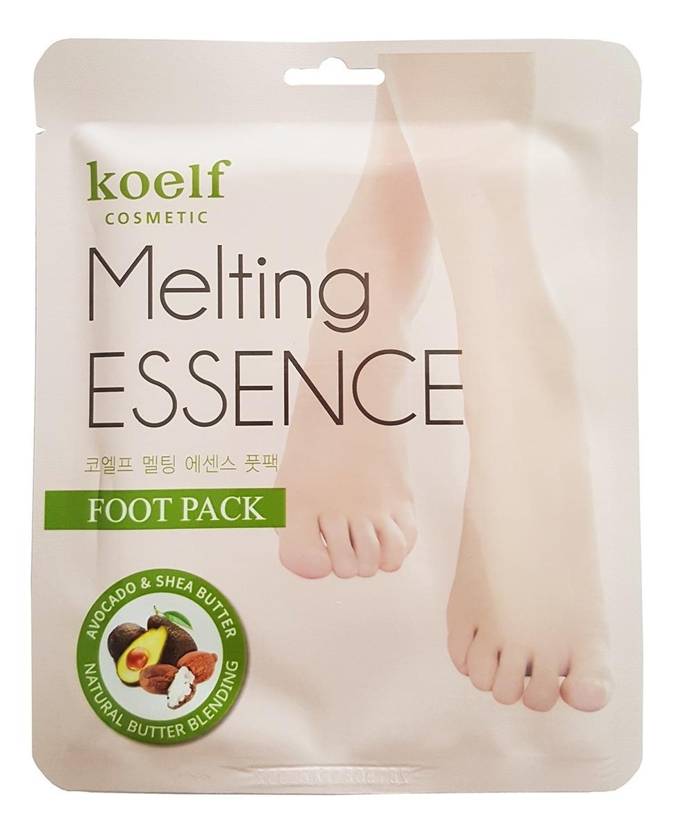 Маска-носочки смягчающие для ног Melting Essence Foot Pack: Маска 16г недорого