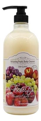 Гель для душа Natural Care Relaxing Body Cleanser Fruits 1000мл (фрукты)
