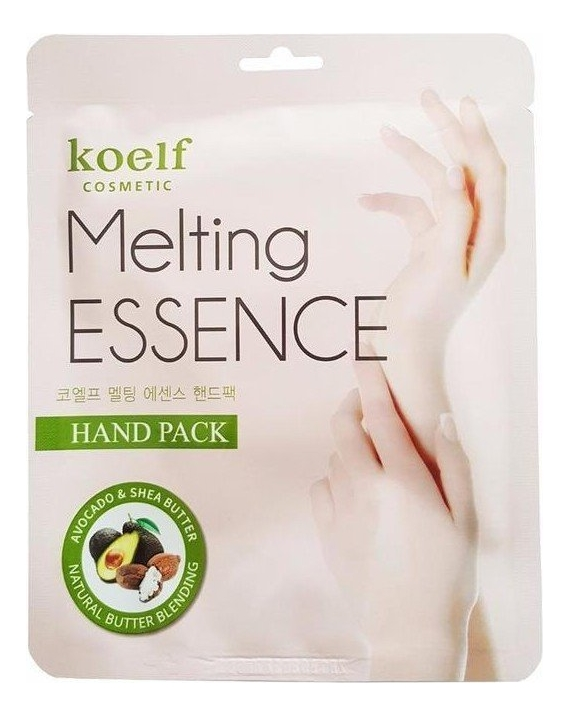 Маска-перчатки смягчающие для рук Melting Essence Hand Pack: Маска 14г