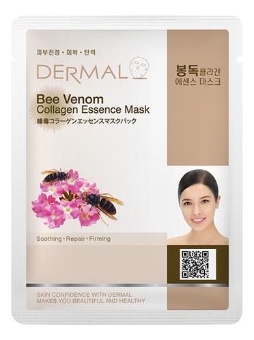 Тканевая маска для лица Bee Venom Collagen 23г (пчелиный яд и коллаген)