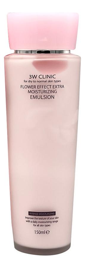 Эмульсия для лица увлажняющая Flower Effect Extra Moisturizing Emulsion 150мл