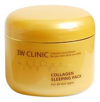 Купить Ночная маска для лица с коллагеном Collagen Sleeping Pack 100мл, 3W CLINIC