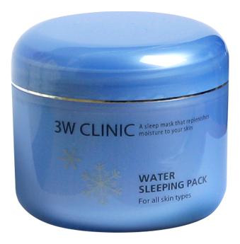 Купить Ночная увлажняющая маска для лица Water Sleeping Pack 100мл, 3W CLINIC