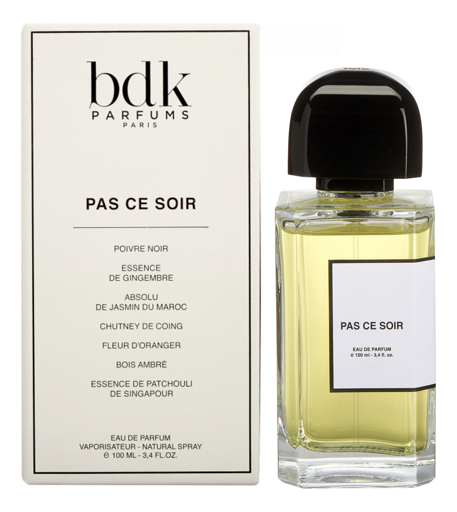 Parfums BDK Paris Pas Сe Soir: парфюмерная вода 100мл