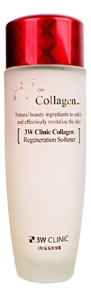Тоник-софтнер для лица с коллагеном Collagen Regeneration Softener 150мл фото