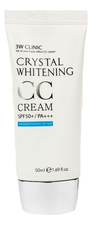 3W CLINIC Осветляющий CC крем для лица Crystal Whitening Cream SPF50 PA+++ 50мл