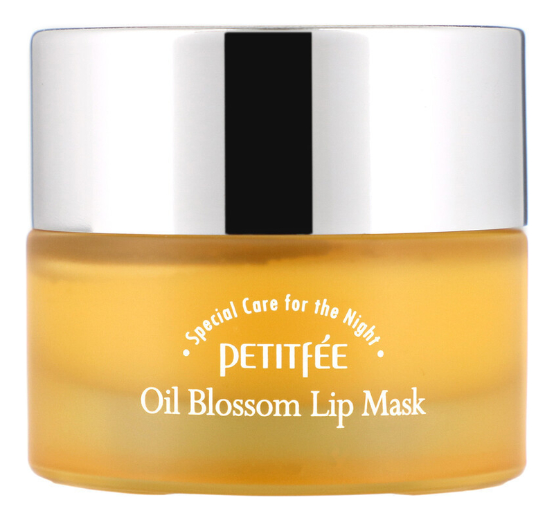 Ночная маска для губ с витамином Е и маслом облепихи Oil Blossom Lip Mask Sea Buckthorn Oil 15г питательное масло с экстрактом облепихи sea buckthorn body oil 100мл