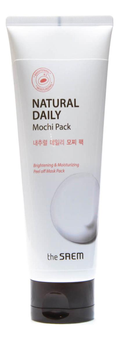 Маска-пленка для лица с экстрактом риса Natural Daily Mochi Pack 120г