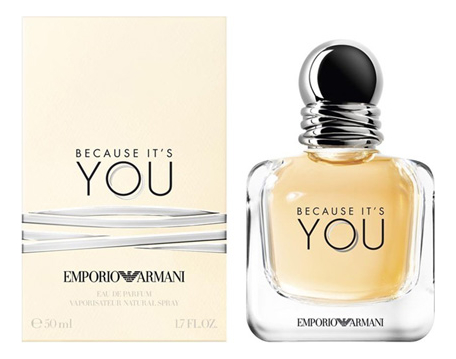Купить Armani Emporio Because It's You: парфюмерная вода 50мл, Armani Emporio Because It s You, Giorgio Armani