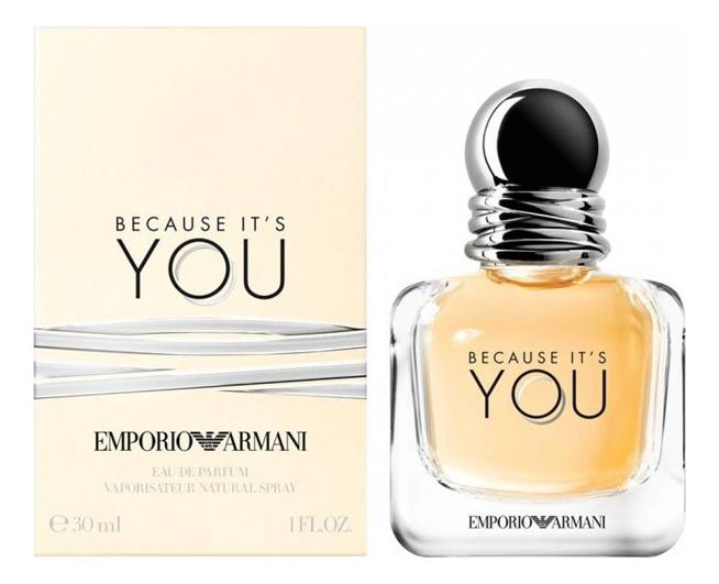 Купить Emporio Because It s You: парфюмерная вода 30мл, Giorgio Armani