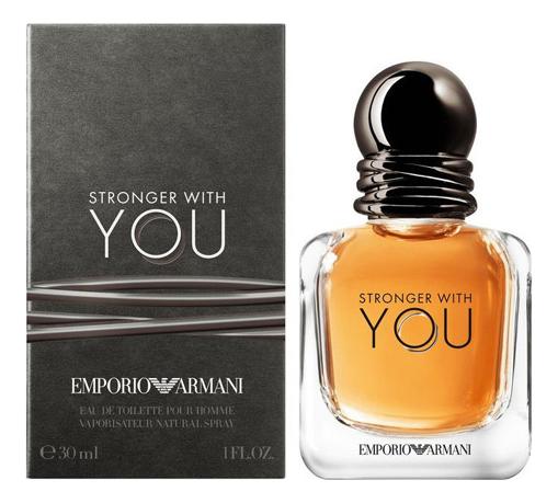 Фото - Emporio Stronger With You: туалетная вода 30мл парфюмерная вода giorgio armani stronger with you intensely 50 мл