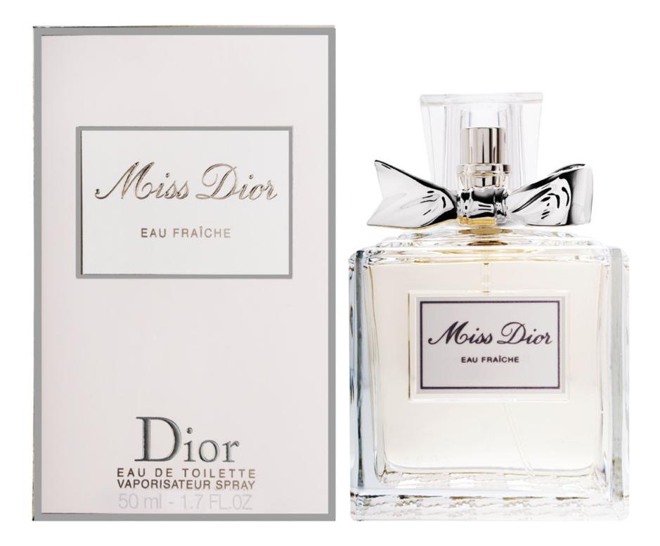 Christian Dior Miss Dior Eau Fraiche : туалетная вода 50мл christian dior addict eau fraiche 2004 туалетная вода 50мл тестер