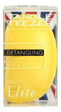 Tangle Teezer Расческа для волос Salon Elite Detangling Yellow & Green