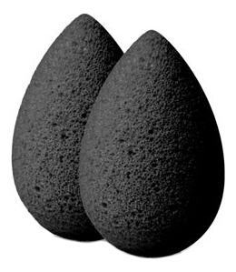 Мини-спонж для макияжа Micro Mini Pro 2шт (черный) цена и фото