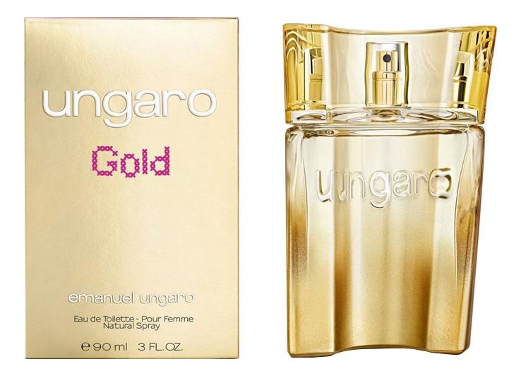 Ungaro Gold: туалетная вода 90мл
