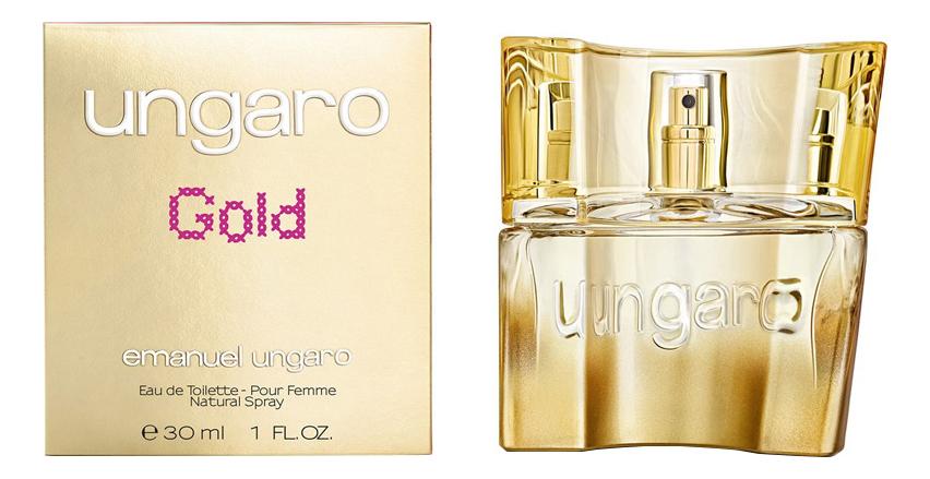 Ungaro Gold: туалетная вода 30мл