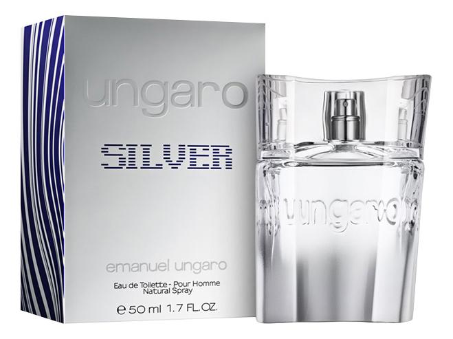 Фото - Emanuel Ungaro Ungaro Silver : туалетная вода 50мл туалетная вода emanuel ungaro