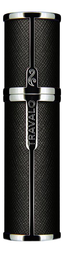 Фото - Атомайзер Milano Easy Fill Perfume Spray 5мл: Black атомайзер perfumepod crystal perfume spray 5мл gold