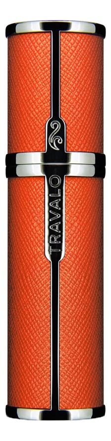 Фото - Атомайзер Milano Easy Fill Perfume Spray 5мл: Orange атомайзер perfumepod crystal perfume spray 5мл gold