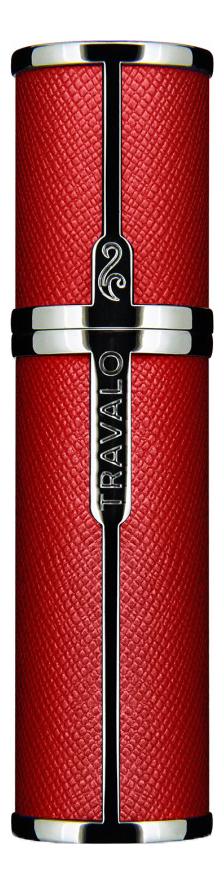 Фото - Атомайзер Milano Easy Fill Perfume Spray 5мл: Red атомайзер perfumepod crystal perfume spray 5мл gold