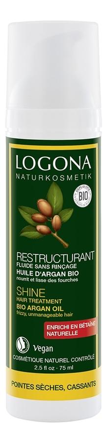 Сыворотка для восстановления блеска волос с аргановым маслом Shine Hair Treatment Bio Argan Oil 75мл