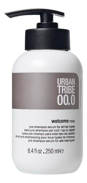 URBAN TRIBE подготовительный шампунь для волос 00.0 welcome relax pre-shampoo serum 250мл - купить в Москве по выгодной цене в интернет-магазине Randewoo