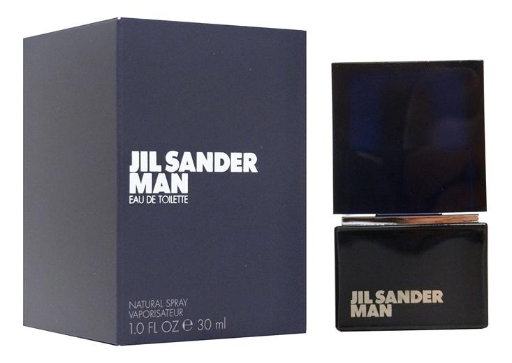 Купить Man (Black): туалетная вода 30мл, Jil Sander