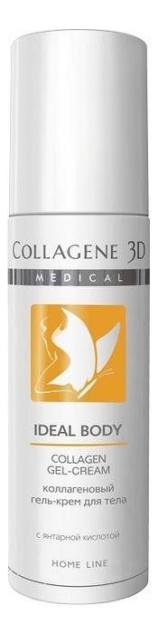 Коллагеновый крем-гель для тела с янтарной кислотой Ideal Body Collagen Gel-Cream Home Line 130мл chi luxury black seed oil curl defining cream gel