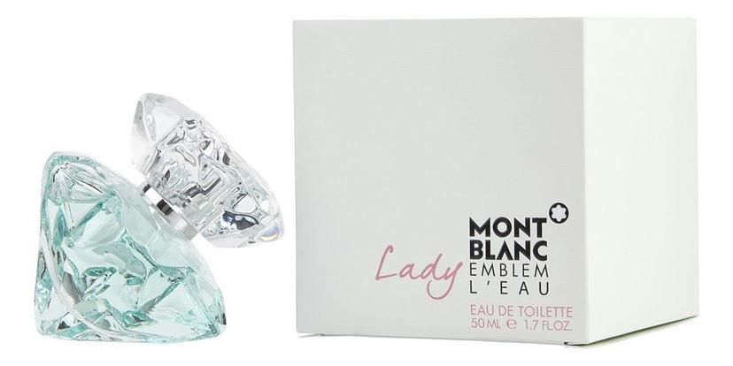 Lady Emblem L`Eau: туалетная вода 50мл туалетная вода montblanc emblem 60 мл
