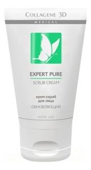 Крем-скраб для лица обновляющий Expert Pure Scrub Cream Home Line 75мл