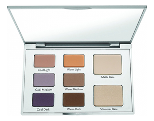 Палетка теней для глаз Eye Contour Eye Shadow Palette 10г