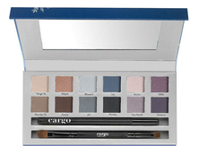 Cargo Cosmetics Набор Eye Shadow Palette Chill In The Six (тени д/век + кисть д/теней + карандаш д/глаз)