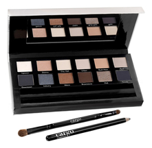 Cargo Cosmetics Набор Eye Shadow Palette The Essentials Eye (тени д/век 12,7г + кисть д/теней + карандаш д/глаз)