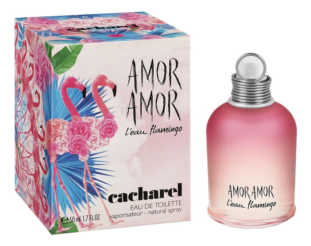 Cacharel Amor L`Eau Flamingo: туалетная вода 50мл