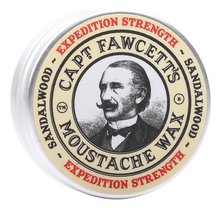 Captain Fawcett Воск для усов Expedition Strength Sandalwood Moustache Wax 15мл