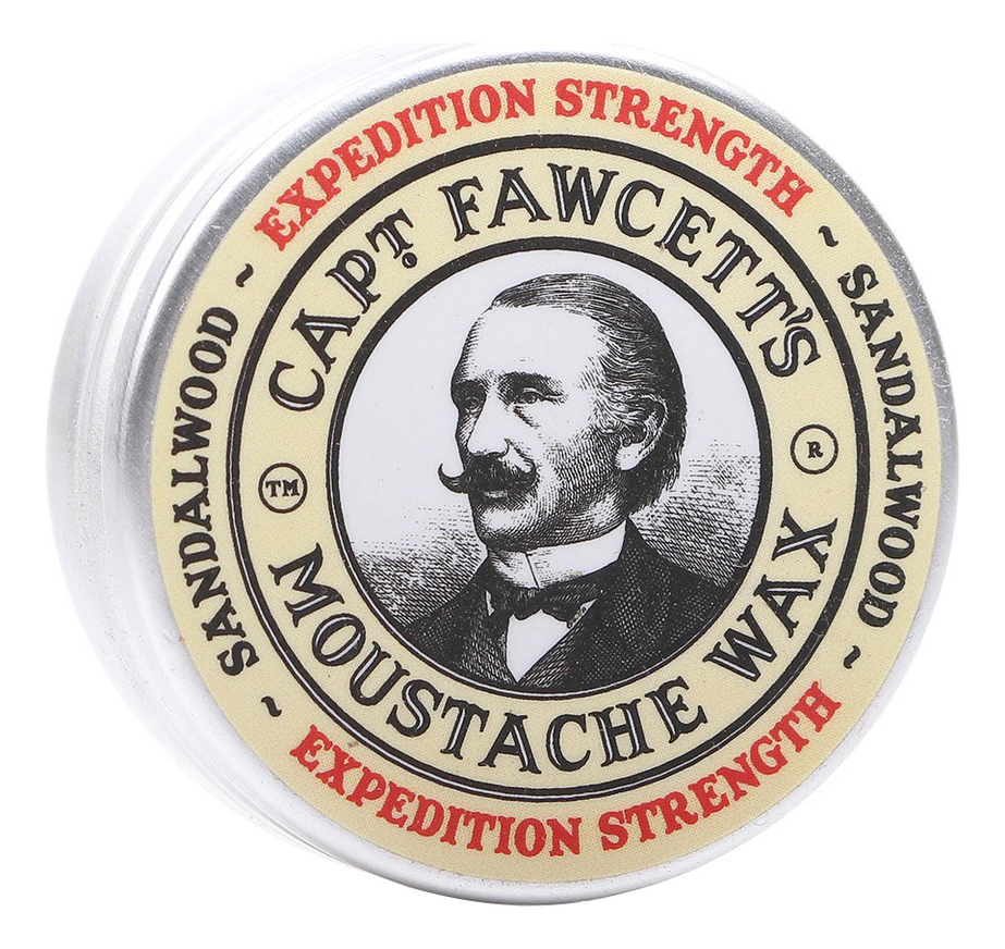 Воск для усов Expedition Strength Sandalwood Moustache Wax 15мл воск для усов barberism 15мл