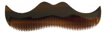 Янтарный гребень в форме усов Comb-Amber