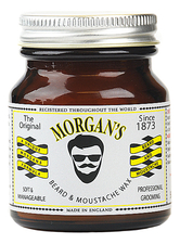 Morgan's Pomade Воск для бороды и усов Beard & Moustache Wax 50г
