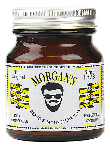 Купить Воск для бороды и усов Beard & Moustache Wax 50г, Воск для бороды и усов Beard & Moustache Wax 50г, Morgan's Pomade