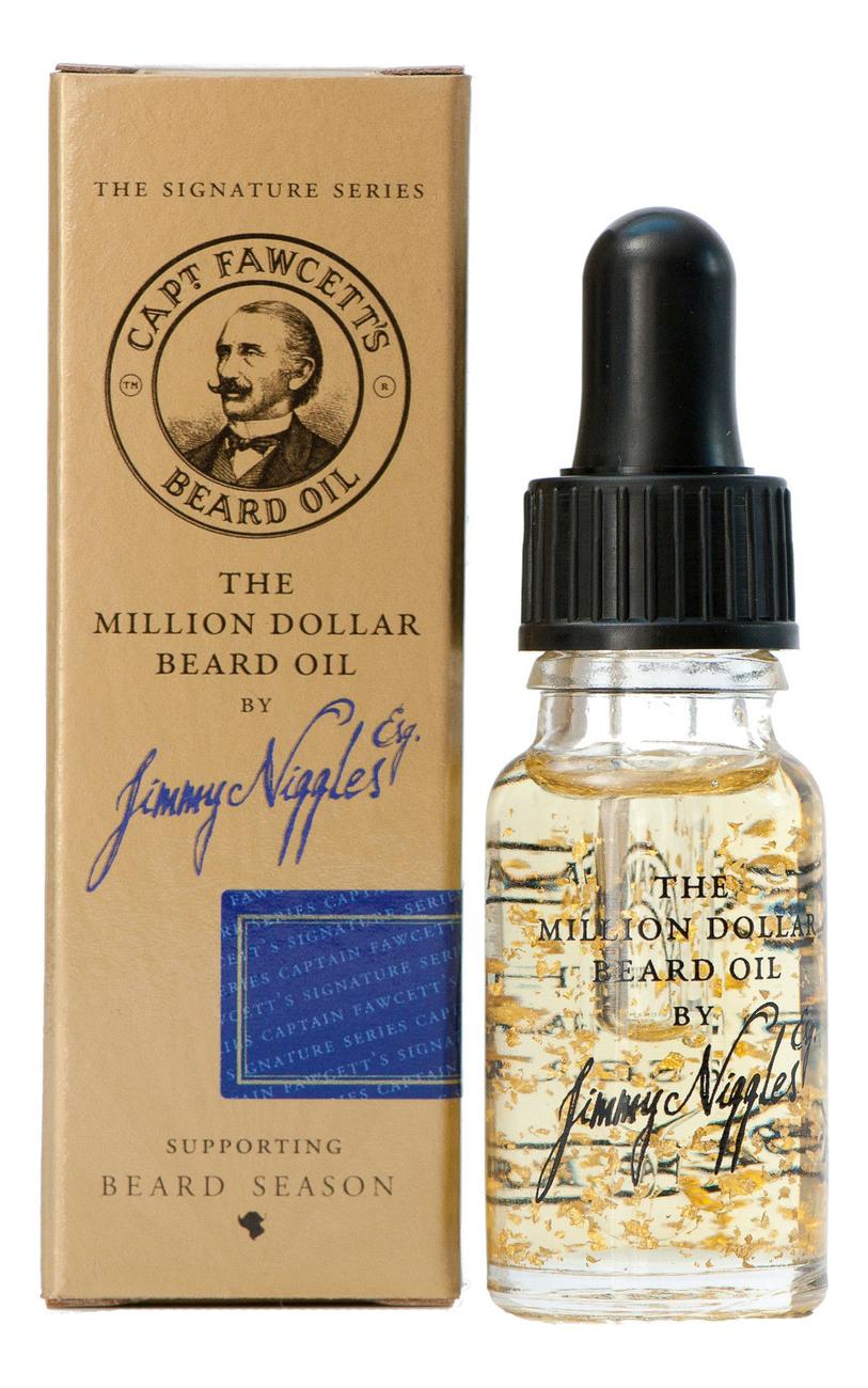 Масло для бороды Jimmy Niggles The Million Dollar Beard Oil: 10мл