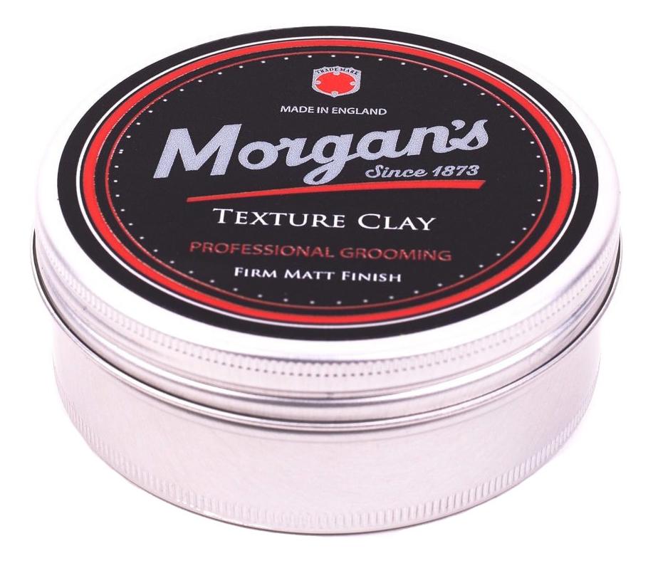 Купить Текстурирующая глина для укладки волос Texture Clay: Глина 75мл, Morgan's Pomade