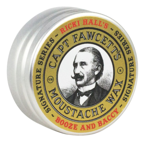 Воск для усов Ricki Hall's Booze & Baccy Moustache Wax 15мл